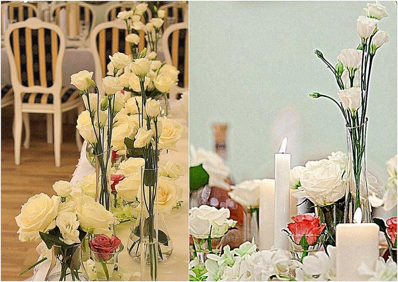 декор свадьбы цветами в ресторане горгасали