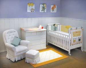 como decorar quarto de bebe Como decorar o quarto do bebê