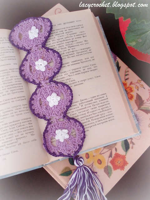 Crochet Bookmarks : crocheted for a bookmark exchange. The other day, a crocheted bookmark ...