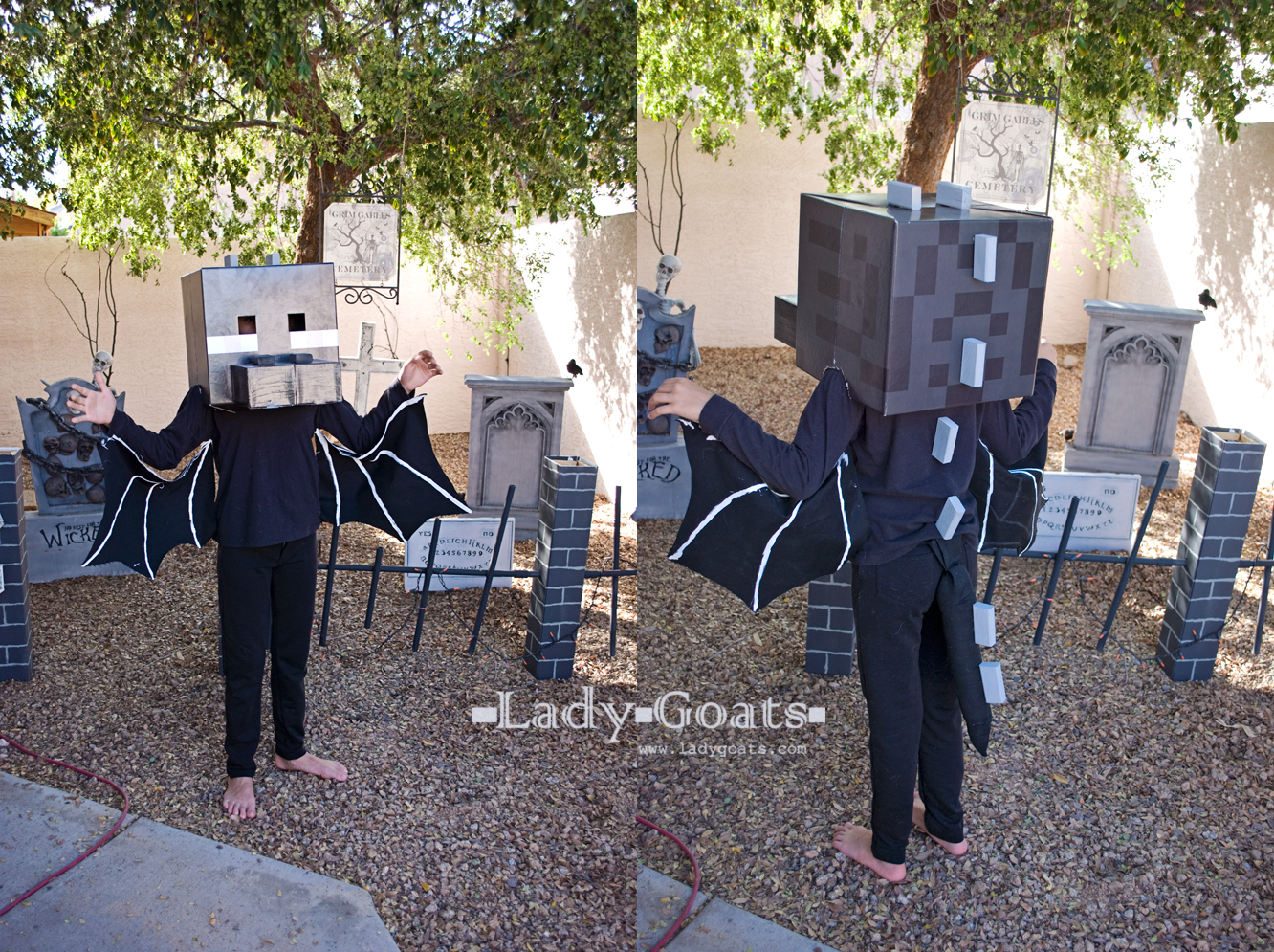 Lady goats updated diy ender dragon costume articulating wings diy minecraft weapons enderdragon costume solutioingenieria Choice Image