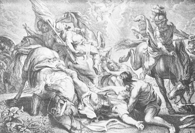"""Saul Stricken"" by Peter Paul Rubens"