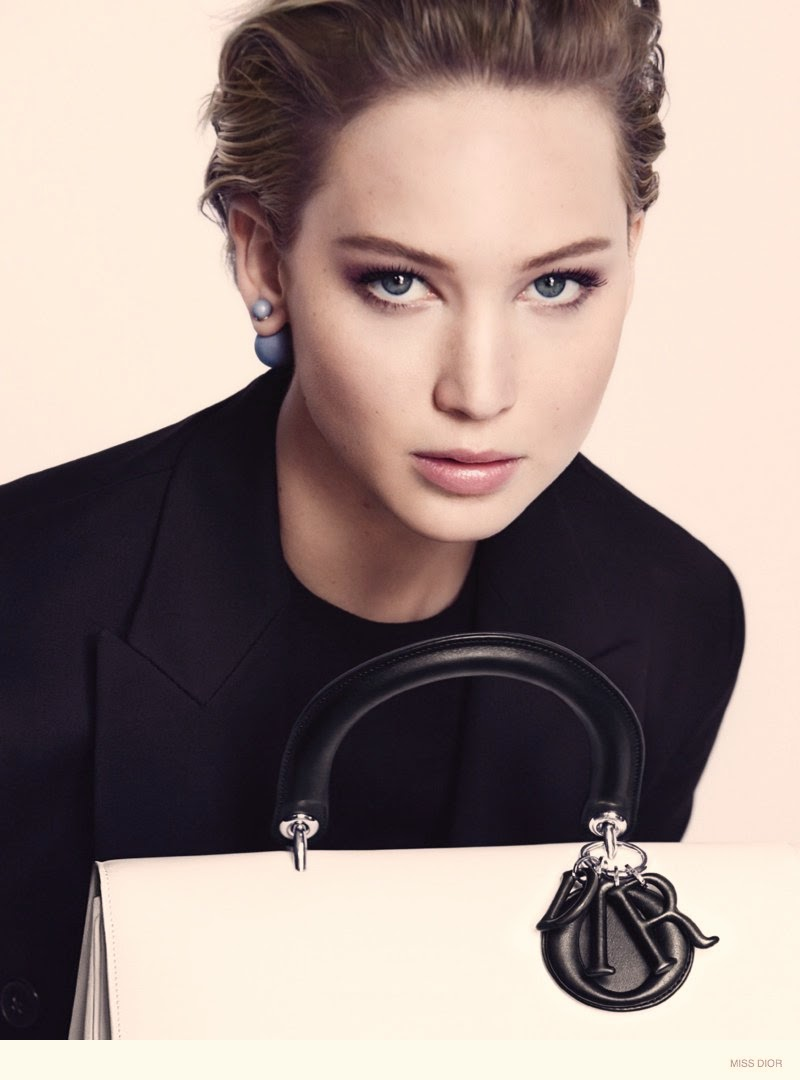 Jennifer Lawrence Miss Dior handbag campaign