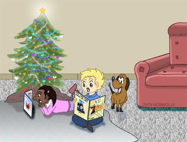 Les 7 BD de Noël pour les enfants