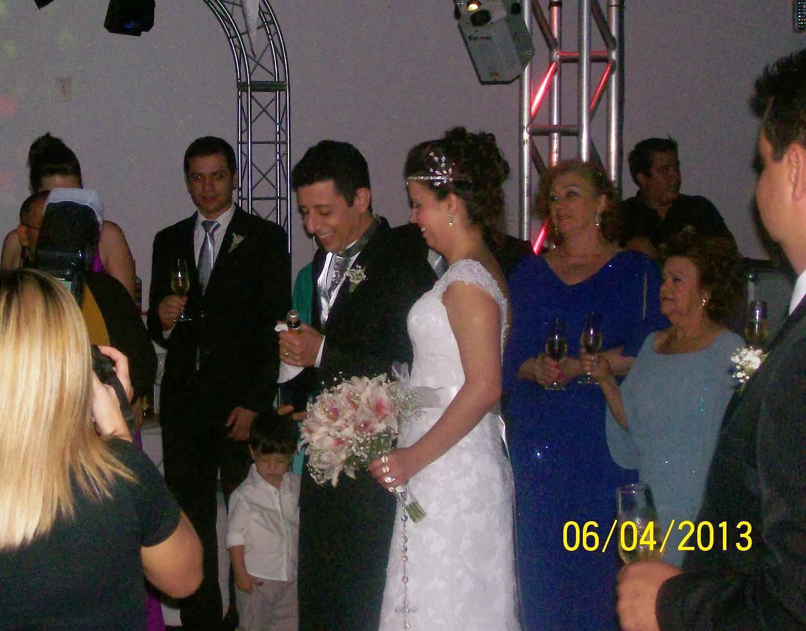 Gisele e Rafael  Casamento