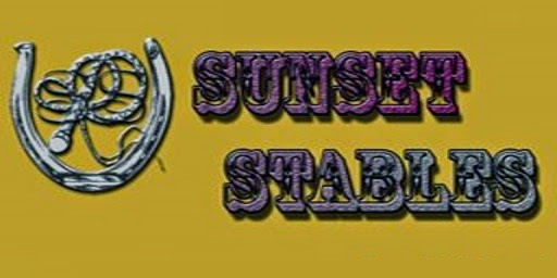 Sunset Stables Sign