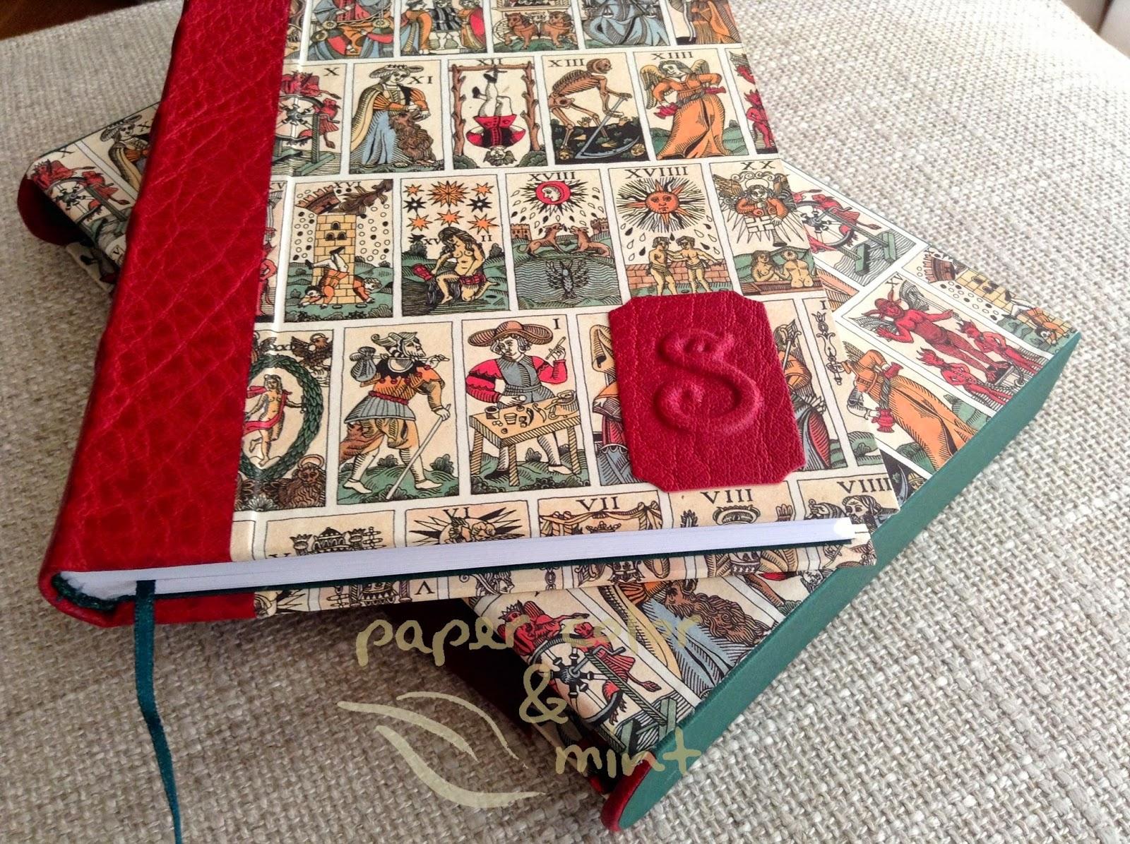 Conjunto Tarot Encuadernación Cuaderno y Funda