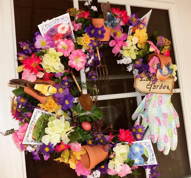 Garden wreath