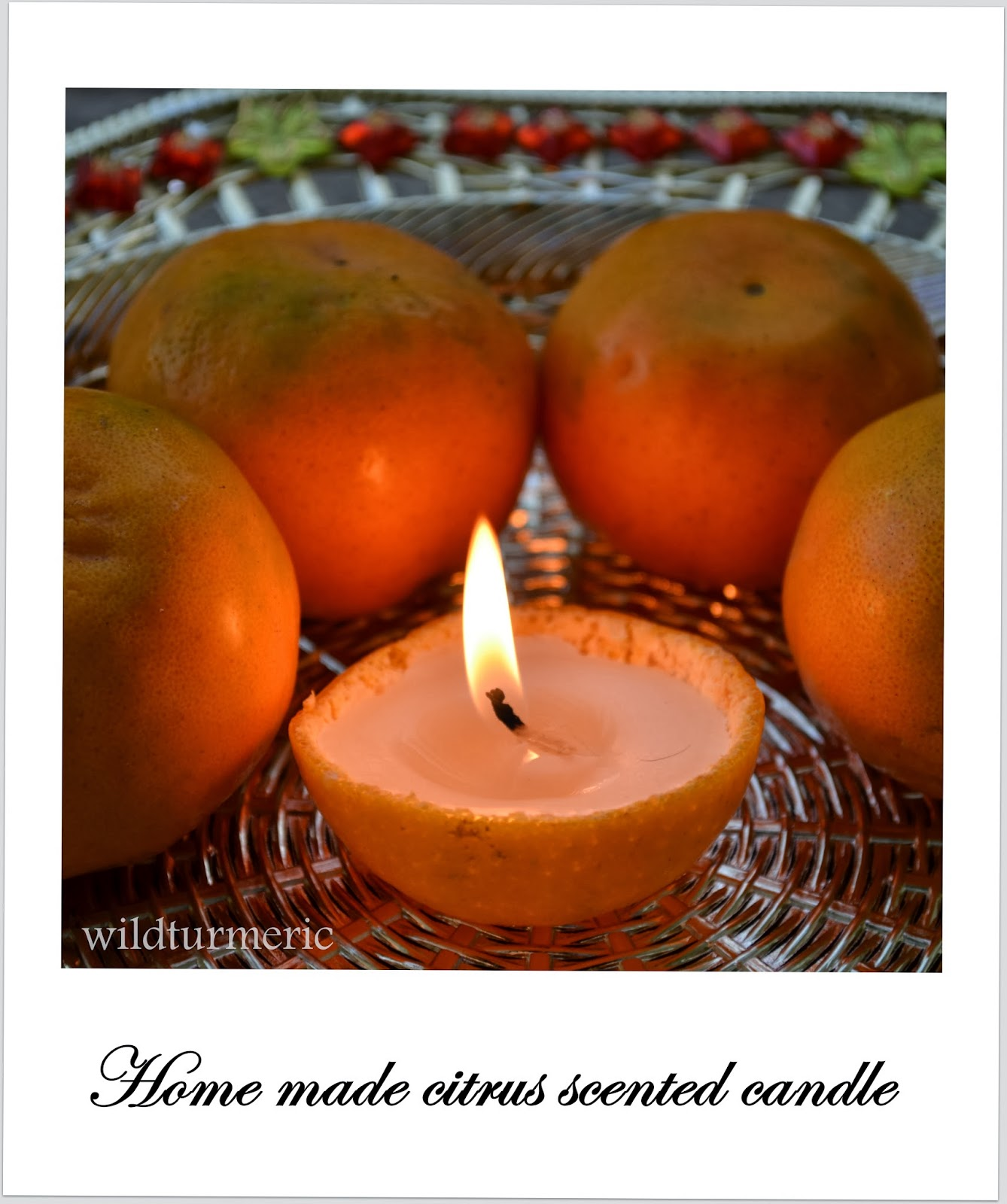 DIY: How to Make Orange Candle