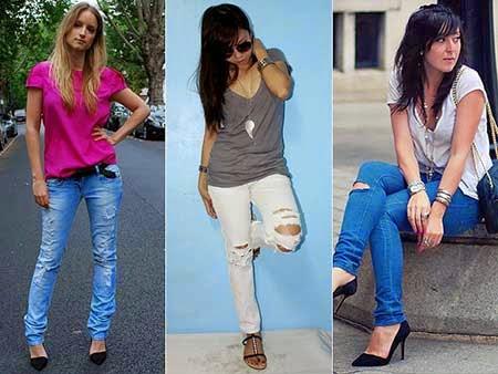 Calças Jeans Femininas Fotos Modelos 3 Calças Jeans Femininas Fotos Modelos