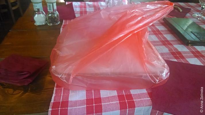 Упакованный обед с собой, ресторан «Кужина»