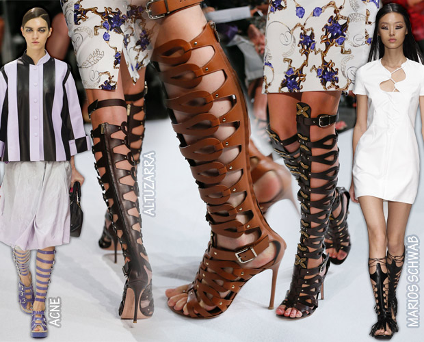 Cat in Heels: Gladiator Sandals: Timeless style and new imagining