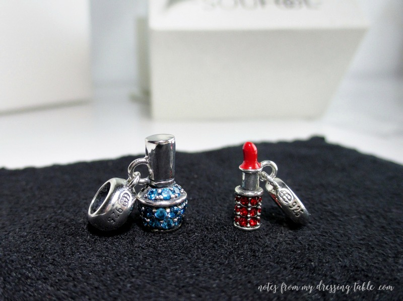 Close Up on Soufeel Lippie and Nail Colour Charms notesfrommydressingtable.com