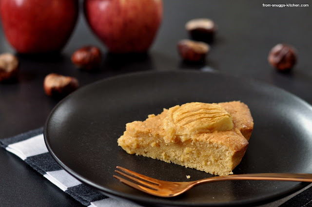 Dulce de Leche-Apfelkuchen