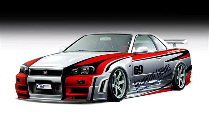 New Best Car Nissan Skyline Gtr