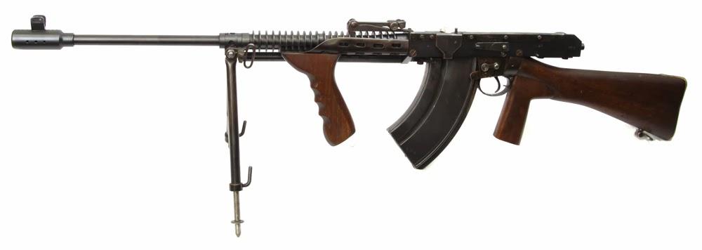 Charlton rifle/machine gun