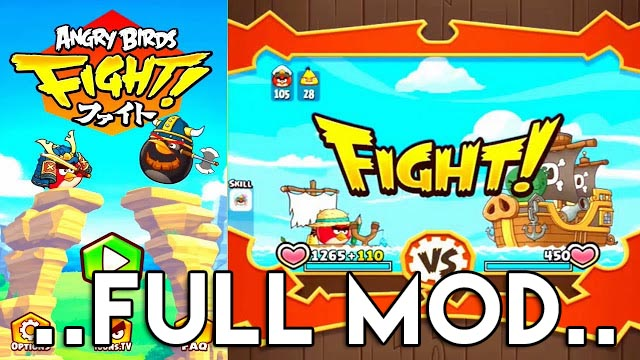 Cara Mudah Cheat Angry Birds Fight