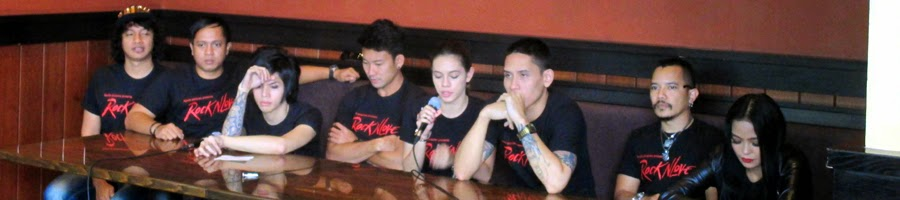 Pendukung film Rock N Love di Press Conferenc Outback Steak House Kuningan City