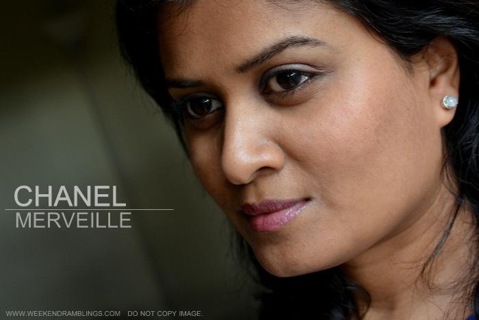 Chanel Rouge Allure Extrait de Lipgloss Merveille 69 Indian Beauty Blog Review Swatch FOTD Printemps Precieux Spring 2013 Makeup Collection