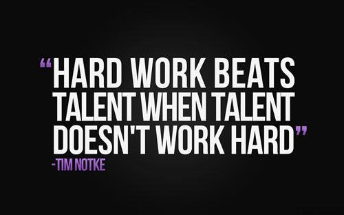Unique Quotes Labor Day Jokes: Hard Work Beats Talent When Talent Doesn't Work Hard Quote By Tim Notke On Labor Day