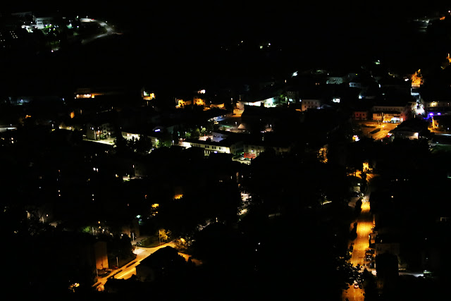 Tolmin by night