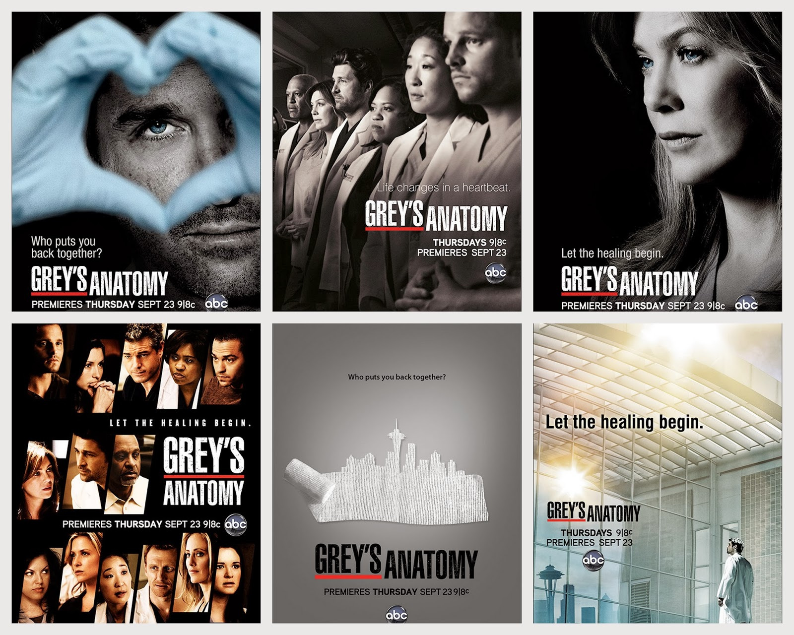 Grey\'s Anatomy Posters   Tv Series All Poster