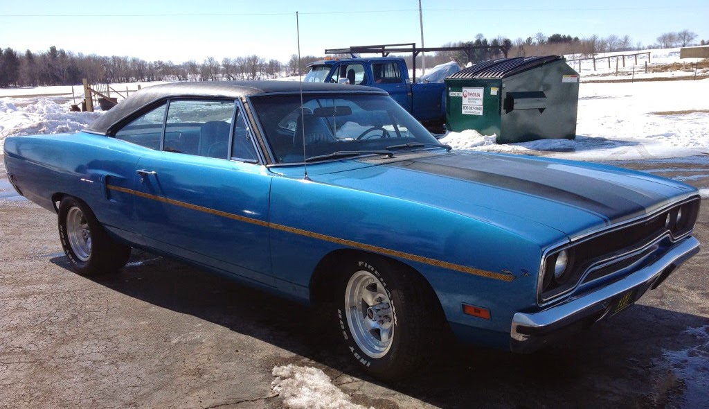 1970 Road Runner Blue