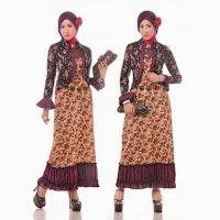 Model Baju Gamis Batik 2014