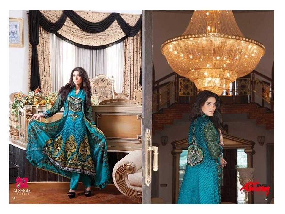 AnumClassicLawnVOL 2ByAl ZohaibTextile 7  - Anum Classic Lawn 2014 Vol-2 By Al-Zohaib Textile