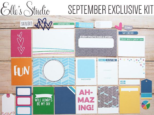 Elle's Studio Design Team : September Exclusive Kit