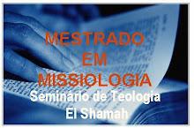 MESTRADO EM MISSIOLOGIA
