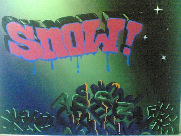 cuadro de graffiti