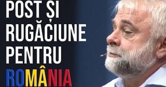 Vladimir Pustan 🔴 POST ȘI RUGĂCIUNE PENTRU ROMÂNIA