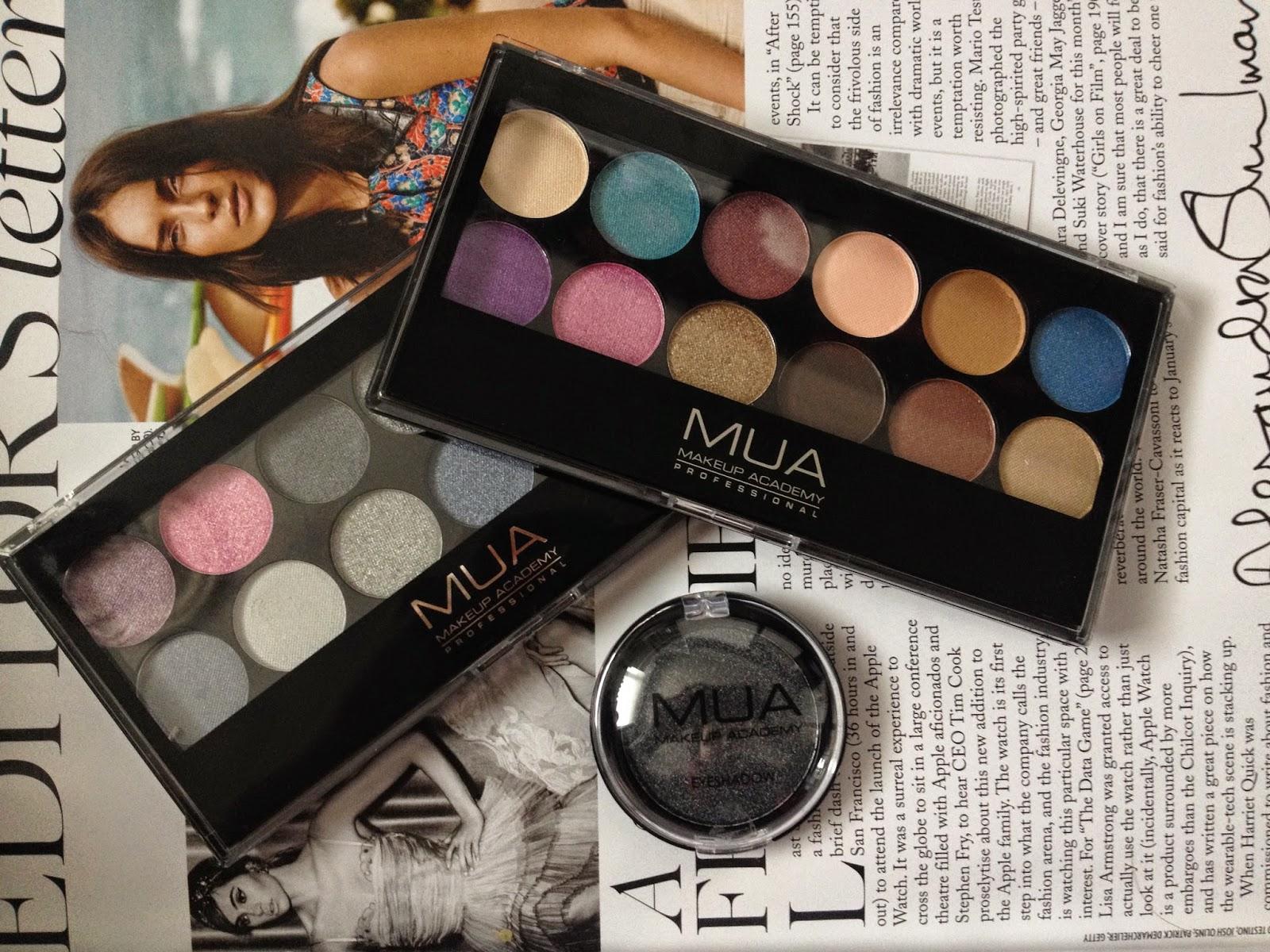 MUA Haul // Eyeshadow Palette and Single Eyeshadow