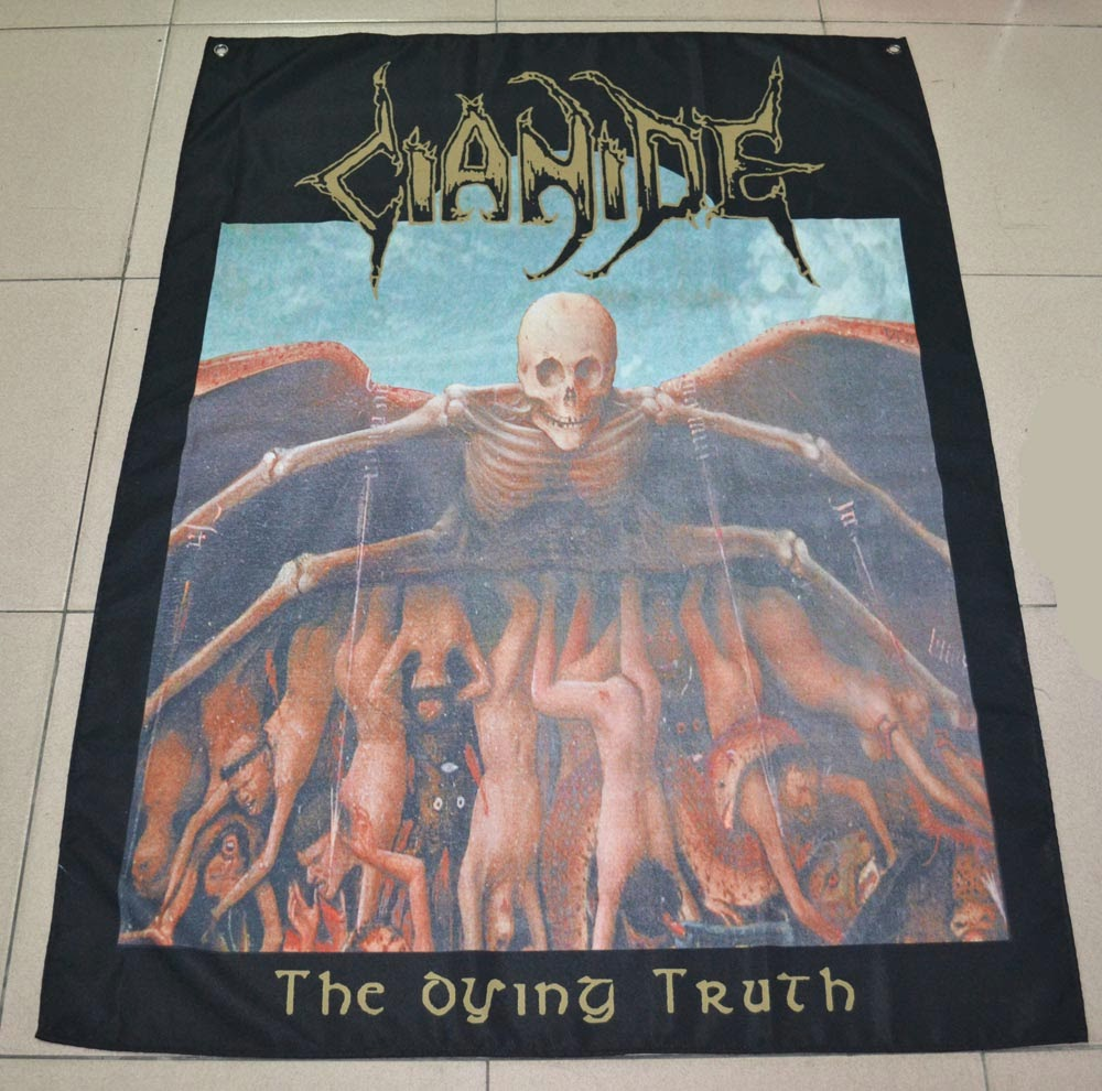 THE DYING TRUTH - Poster Flag
