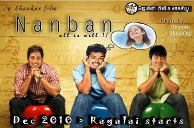 3 Idiots in Tamil - Nanban photos