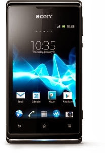 Verizon Prepaid Sony Xperia E C1604 Dual-SIM Unlocked Android Phone--U.S. Warranty (Black)
