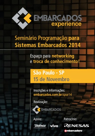 Seminário Programação para Sistemas Embarcados 2014