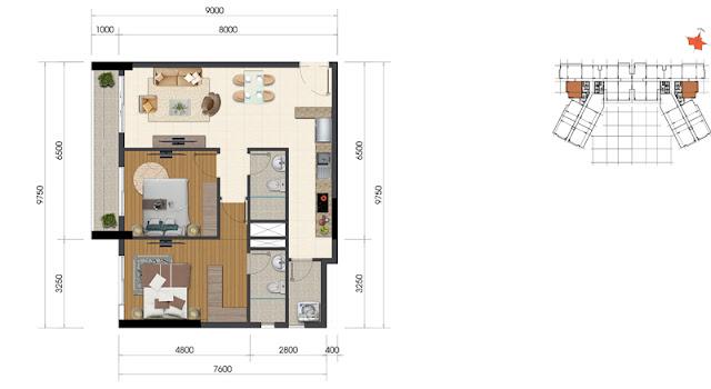 Dự án The Everrich Infinity Quận 5 căn hộ 4