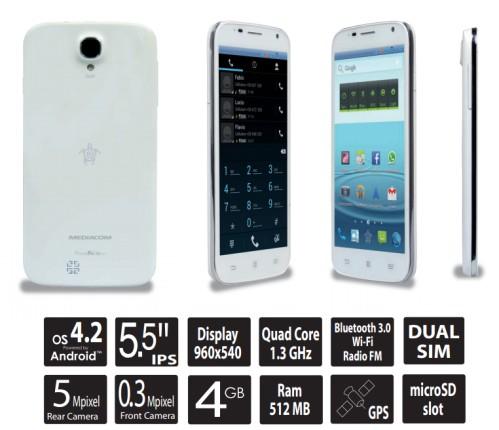 Ecco le caratteristiche e il design del nuovo PhonePad Duo G550 di Mediacom