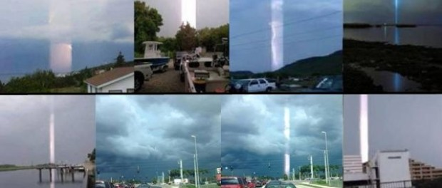 Bizarre Light Beams Incidents Reported All Over The World