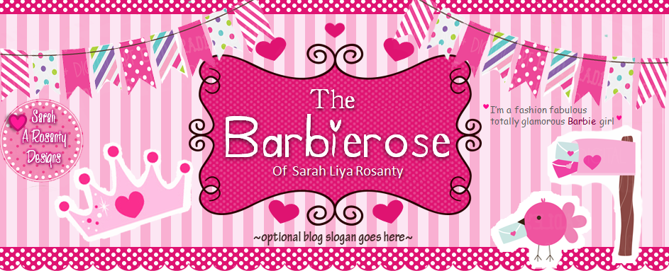 The Barbierose of Sarah Liya Rosanty♥