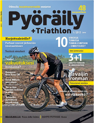 "RUNssel - advanced jogging: In the press: Cover-shot for ""Pyöräily"