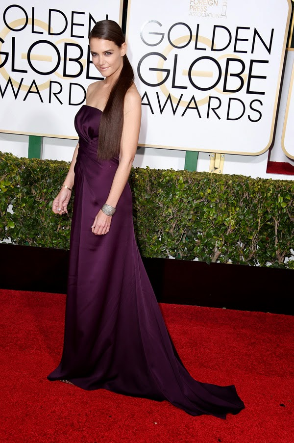 Katie-Holmes-Golden-globes-2015-red-carpet