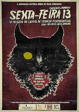 SEXTA-FEIRA 13 | 6ª Mostra de Curtas de Terror Açorianas