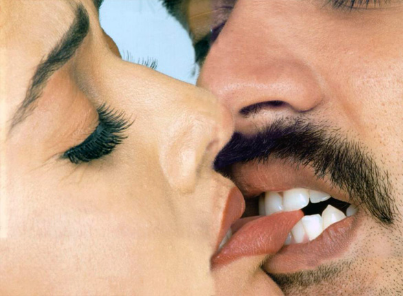 Sexy Erotic Kiss