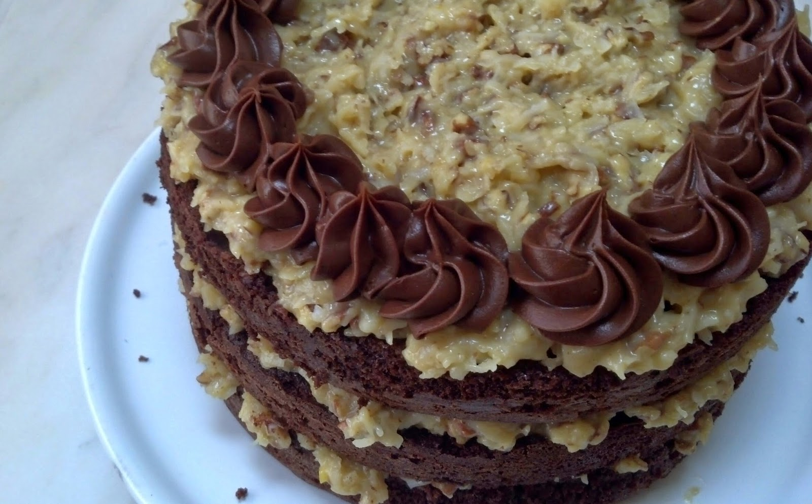 salted sugared spiced™: German Chocolate Cake