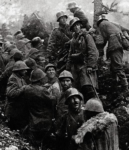 Soldati germani si prizonieri italieni