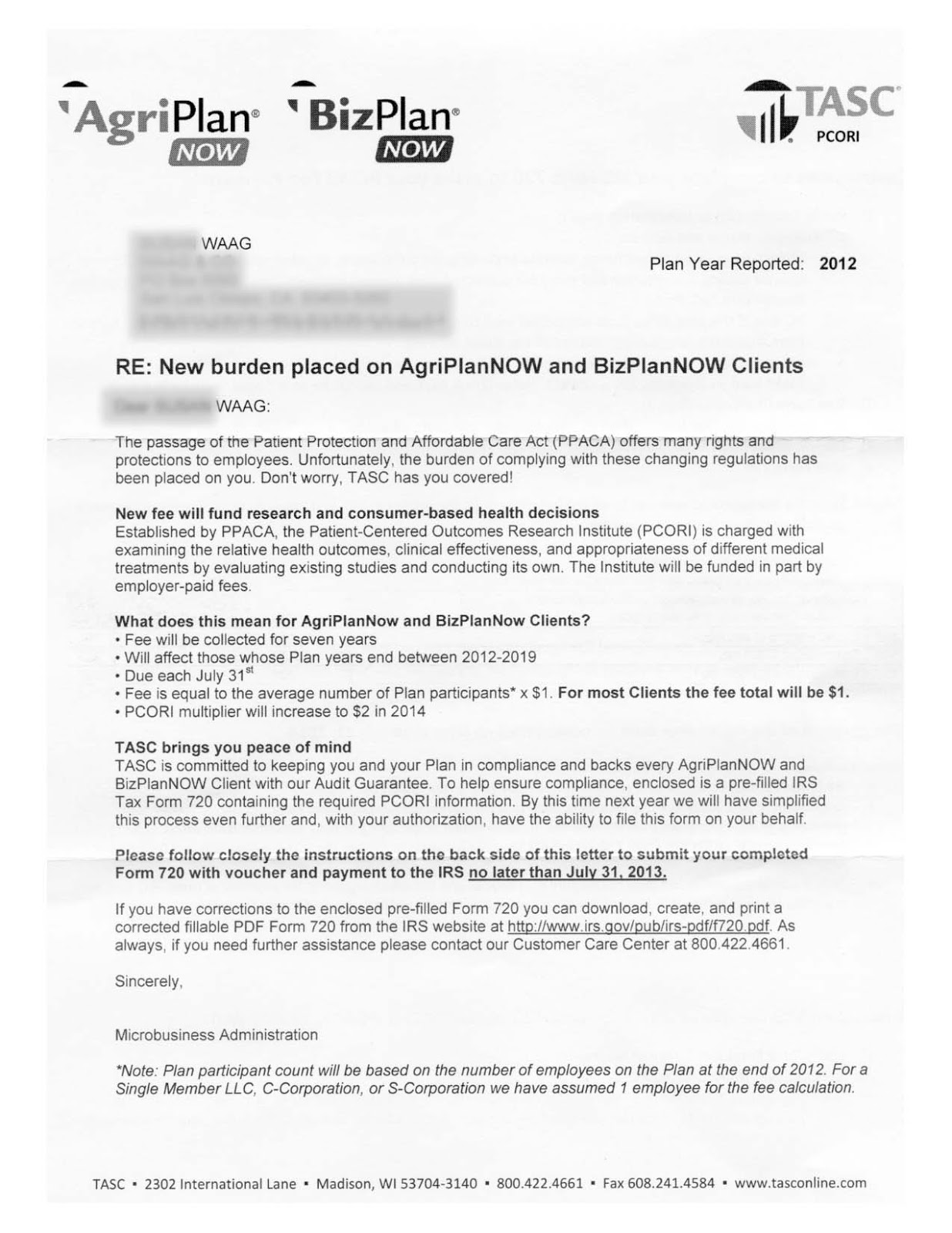 Irs form for new employees gallery standard form examples timwaagblog obamacare part i obamacare is coming 112014 get read letter from section 105 plan administrator falaconquin