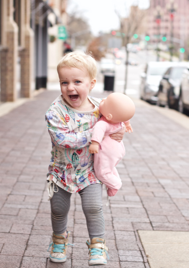 Toddler Feather Tunic