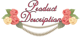 Описание продукта/Product Description